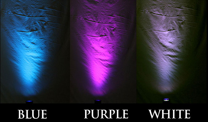 LED Uplight Colors