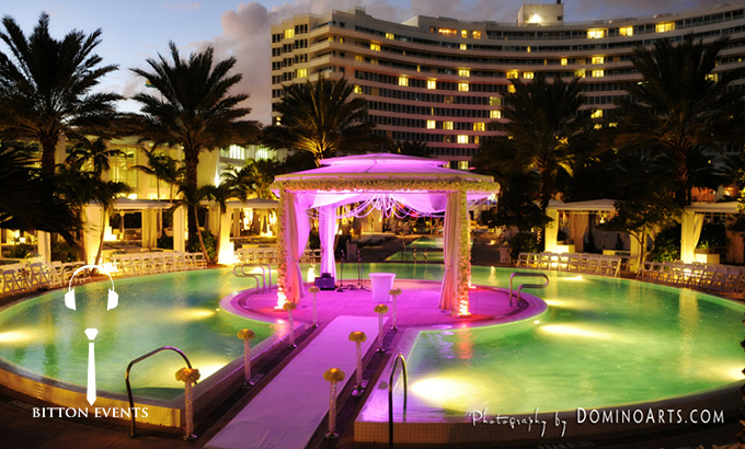 fontainebleau miami beach wedding pictures