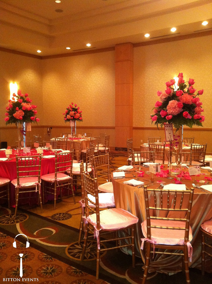 Intercontinental doral wedding
