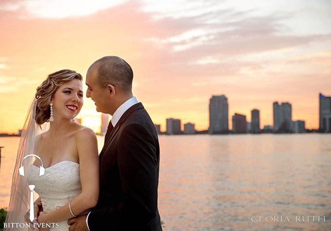 Rusty Pelican Restaurant Miami Wedding Pictures